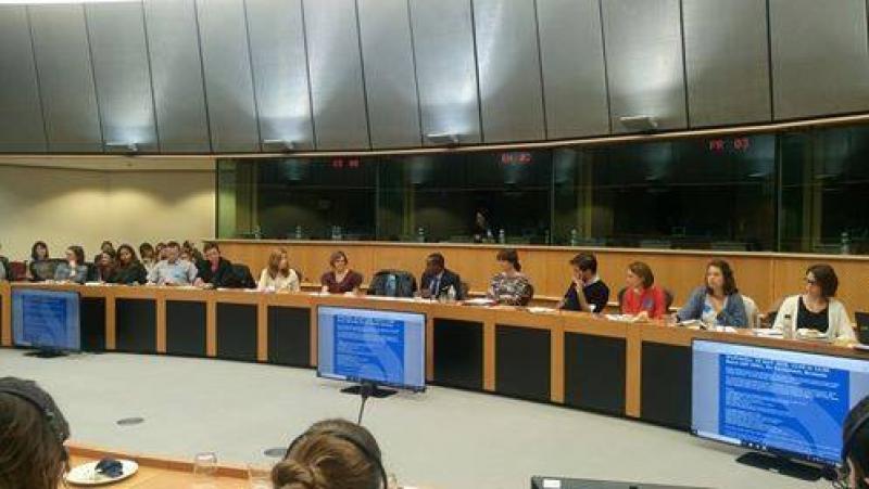 Εξυπηρετούμενος του ΕΣΠ σε εκδήλωση του ICJ στο Ευρωπαϊκό Κοινοβούλιο