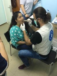 Εξέταση στοματικής υγιεινής στην ΠΥΞΙΔΑ