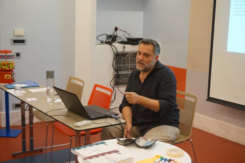 Oλοκλήρωση εργαστηρίου του έργου «Συνδιαμορφώνοντας μια Συμβουλευτική Μέθοδο για γυναίκες πρόσφυγες, θύματα Έμφυλης Βίας» στην Αθήνα