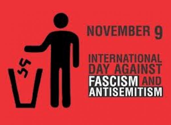 """""""Παρασκευή 9 Νοεμβρίου"""" - Διεθνής Ημέρα κατά του Φασισμού και του Αντισημητισμού"""